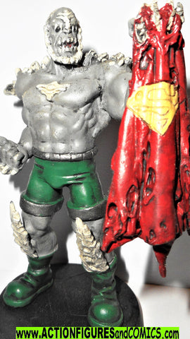 DC Eaglemoss chess DOOMSDAY Death of superman dc universe