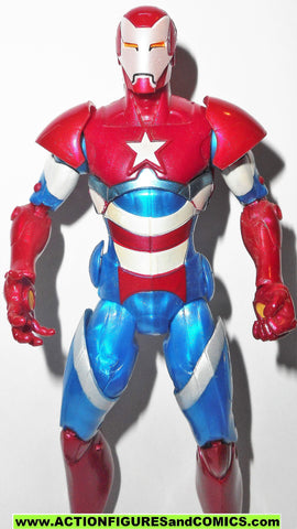 marvel legends IRON PATRIOT iron monger series hasbro action figures