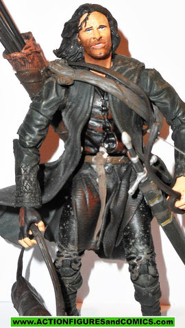 Lord of the Rings ARAGORN RANGER real arrow launching action toybiz strider