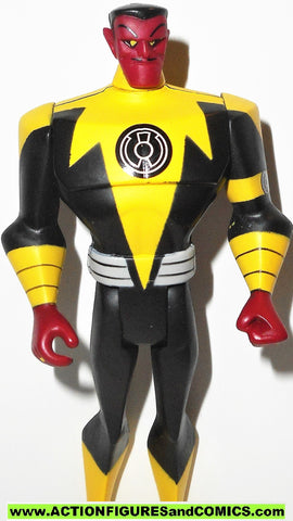 justice league unlimited SINESTRO yellow corps green lantern dc universe