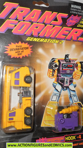 Transformers Generation 2 HOOK g2 yellow DEVASTATOR moc