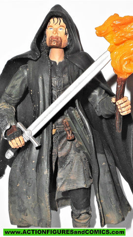 Lord of the Rings STRIDER Aragorn DELUXE 2003 toy biz complete hobbit