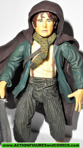 Lord of the Rings PIPPIN PEREGRIN toy biz HOOD UP complete hobbit