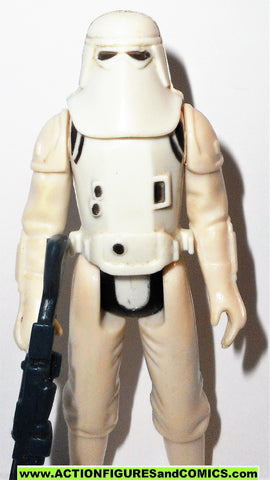 star wars action figures SNOWTROOPER 1980 kenner vintage 100% complete