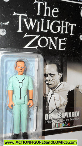 Twilight Zone DR BERNARDI doctor color GREEN only 330 eye of the beholder moc