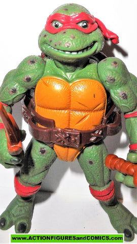 teenage mutant ninja turtles RAPHAEL movie star Leo 1992 II 2 vintage