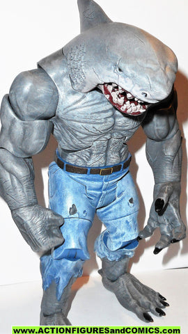 dc universe classics KING SHARK baf COMPLETE 9 inch multiverse cnc
