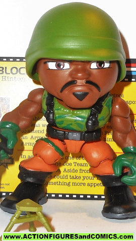Loyal Subjects Gi joe ROADBLOCK 2014 series 2 gijoe g i action vinyls