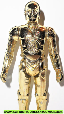 star wars action figures C-3PO 1977 vintage kenner 100% complete 00