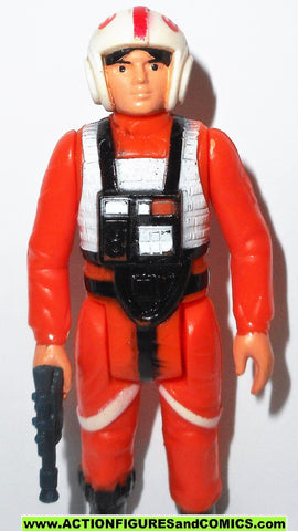 star wars action figures LUKE SKYWALKER 1978 X-WING pilot kenner vintage 100% complete