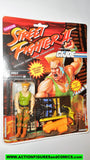 gi joe Street Fighter II GUILE 1993 capcom 2 gijoe action figure moc