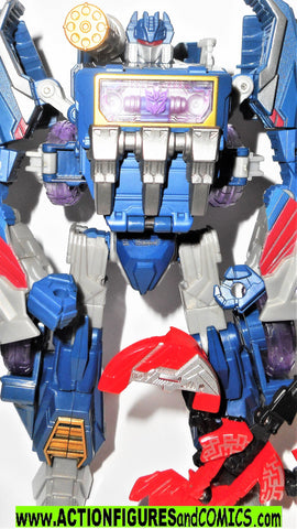 TRANSFORMERS classics SOUNDWAVE 7 inch Generations fall of cybertron