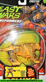 Transformers beast wars CHEETOR 1996 green eyes cheetah 1997 moc