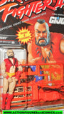 gi joe Street Fighter II ZANGIEF 1993 capcom 2 gijoe action figure moc