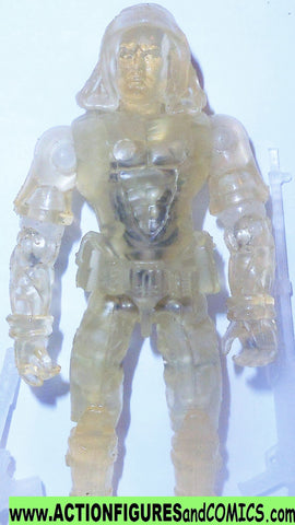 gi joe ZARTAN 2003 collector club CLEAR INVISIBLE translucent v6