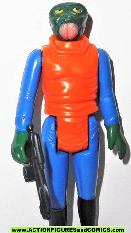 Star wars action figures WALRUS MAN 1978 vintage kenner 100% complete