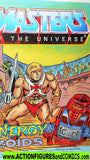 Masters of the Universe ENERGY ZOIDS 1987 vintage he-man mini comic
