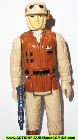 star wars action figures HOTH REBEL SOLDIER 1980 vintage kenner 100% complete #S101