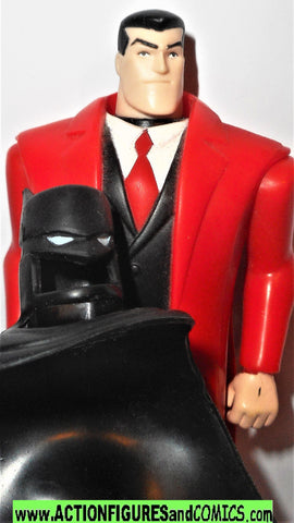 batman animated series BRUCE WAYNE red dc kenner hasbro action figures