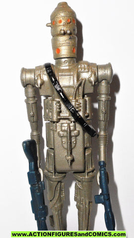 star wars action figures IG-88 1980 GREY kenner vintage 100% complete