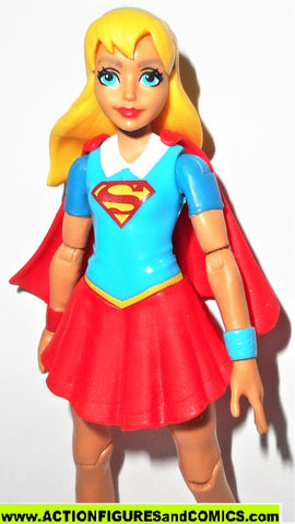 DC super hero girls SUPERGIRL 6 inch action figures superman dc universe