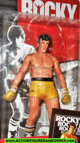 ROCKY action figures ROCKY BALBOA III 3 movie Neca Reel Toys 2012 moc