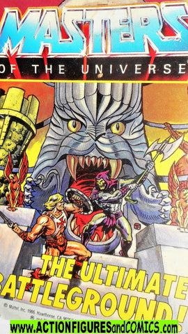 Masters of the Universe ETERNIA ultimate battleground vintage mini comic He-man