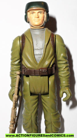 star wars action figures REBEL COMMANDO ENDOR 1983 vintage HONG KONG CO kenner 100% complete