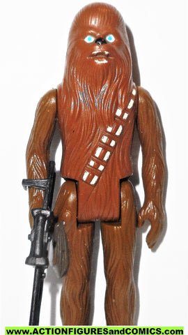 star wars action figures CHEWBACCA 1977 vintage kenner 100% COMPLETE
