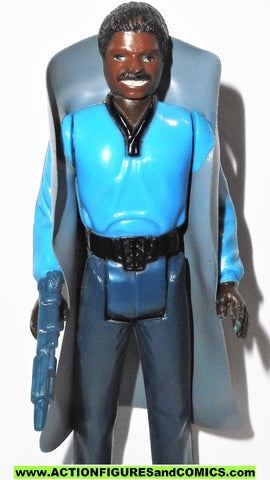star wars action figures LANDO CALRISSIAN 1980 TEETH variant CHINA COO Complete