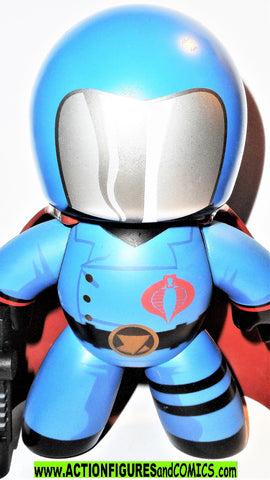 gi joe COBRA COMMANDER 6 inch MIGHTY MUGGS hasbro action figures