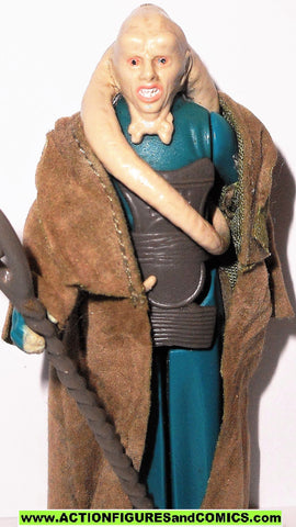 star wars action figures BIB FORTUNA 1983 vintage kenner 100% complete