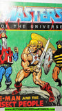 Masters of the Universe BUZZ OFF vintage 100% COMPLETE comic book he-man 205