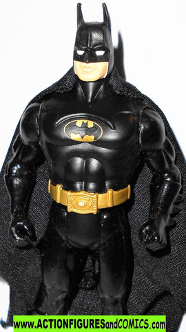 Super powers BATMAN 1984 CUSTOM 1989 movie suit kenner