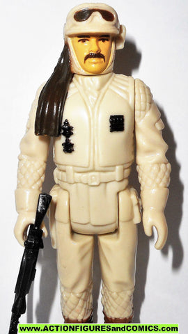 star wars action figures HOTH REBEL COMMANDER vintage kenner 100% complete