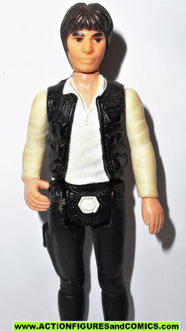star wars action figures HAN SOLO 1977 big head kenner vintage fig