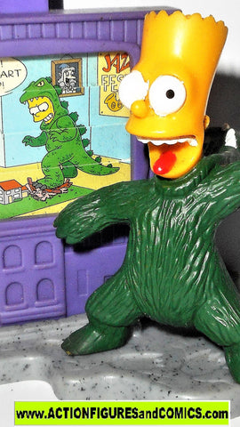 Simpsons BART BARTZILLA Simpson GODZILLA Treehouse of Horror Burger King