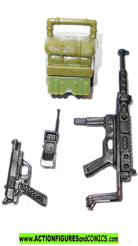 gi joe DUKE 2002 v9 complete accessory set 3.75 3 3/4 inch