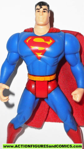 Superman Animated Series SUPERMAN pupil variant kenner action figures