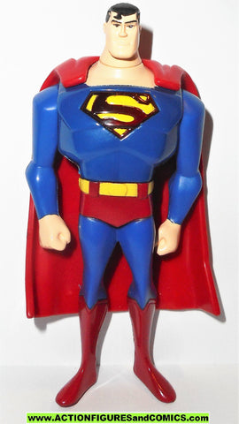 batman animated series SUPERMAN CARL'S JR exclusive dc super heroes 2007