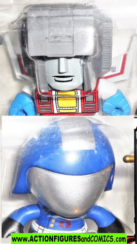 Transformers Loyal Subjects STARSCREAM COBRA COMMANDER gi joe vs x moc