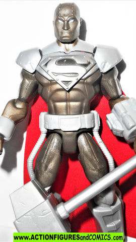 dc universe Total Heroes STEEL return of SUPERMAN 2013 6 inch