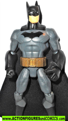 DC universe total heroes BATMAN 2013 6 inch gray action figures