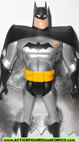 batman animated series BATMAN 2002 Mattel SILVER dollar store exclusive