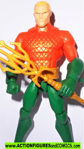 dc universe Total Heroes AQUAMAN 2013 6 inch action figures mattel