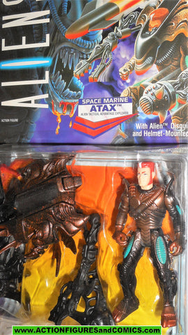 aliens vs predator kenner ATAX 1992 movie moc mip mib action figures space marines hasbro toys