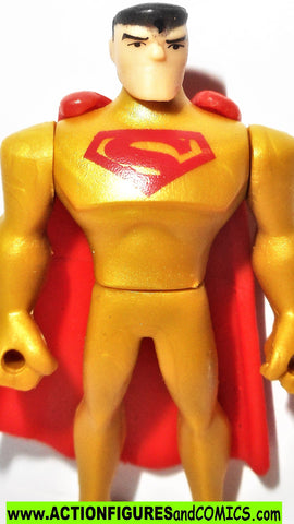 DC mighty minis SUPERMAN GOLD Solar justice league action dc universe