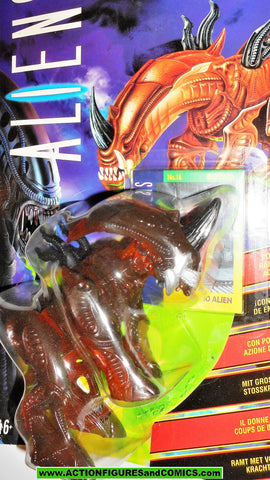 aliens vs predator kenner RHINO ALIEN 1994 UK European exclusive movie moc mip mib figures