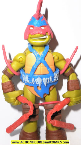 teenage mutant ninja turtles MICHELANGELO SAVAGE MIKEY 2015 playmates toy