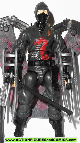 gi joe DARK NINJA retaliation movie 2013 complete action figure gijoe